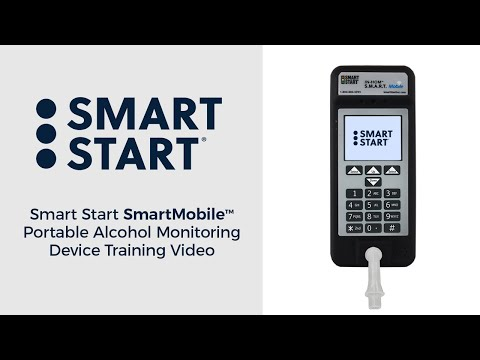 Smart Start SMART Mobile Portable Alcohol Monitoring Device Training Video