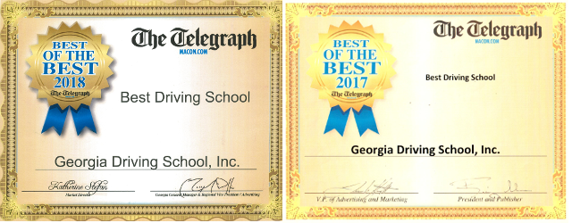 Best Driving School 2017 and 2018 Award